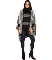 Vince Camuto - Exaggerated Plaid Poncho