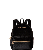 Betsey Johnson - Head of The Class Velvet Skulls Backpack