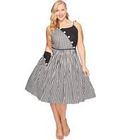 Unique Vintage - Plus Size Hamilton Swing Dress