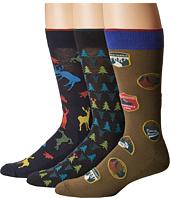 HUE - Big Buck Socks with Half Cushion 3-Pack
