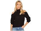 Mai Cold-Shoulder Turtleneck Sweater