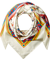 Tory Burch - Dancers Silk Square Scarf