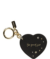 COACH - Selena Heart Bag Charm