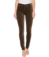 AG Adriano Goldschmied - The Velvet Farrah Skinny in Dried Seaweed