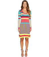 Boutique Moschino - Knit Multi Pattern Dress
