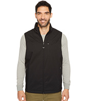 IZOD - Reversible Water Resistant Nylon/Fleece Vest with Zipper Pockets