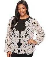Calvin Klein Plus - Plus Size Peasant Sleeve Blouse