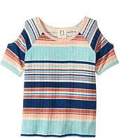 People's Project LA Kids - Willa Knit Cold Shoulder Top (Big Kids)