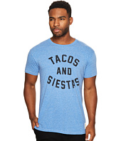The Original Retro Brand - Tacos and Siestas Short Sleeve Tri-Blend Tee