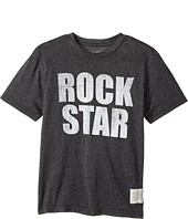 The Original Retro Brand Kids - Rock Star Short Sleeve Heather Vintage Tee (Big Kids)