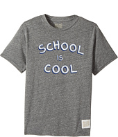 The Original Retro Brand Kids - School Is Cool Tri-Blend Short Sleeve Tee (Big Kids)