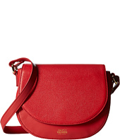Frances Valentine - Mini Shoulder Satchel Tumbled Leather
