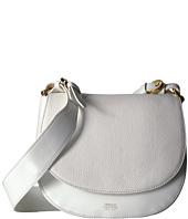 Frances Valentine - Small Shoulder Satchel Tumbled Leather