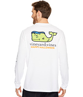 Vineyard Vines - Long Sleeve Frankenstein Whale Pocket Tee