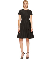 Jil Sander Navy - Short Sleeve Dress with Belt