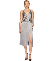 Jil Sander Navy - Sleeveless Cami Slip Dress with Slit