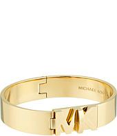 Michael Kors - Iconic Hinged MK Logo Bangle Bracelet
