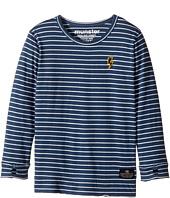 Munster Kids - Jaxson Jersey Long Sleeve Tee (Toddler/Little Kids)