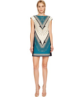 Versace Collection - Ottanio Sleeveless Printed Dress