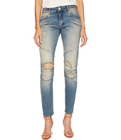 Pierre Balmain - Biker Distressed Jeans