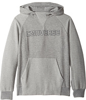 Converse Kids - Textured Knit Hoodie (Big Kids)