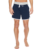 2(X)IST - Athleisure-Core Contrast Binding Jogger Shorts