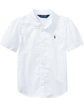 Polo Ralph Lauren Kids - Solid Oxford Shirt (Toddler)