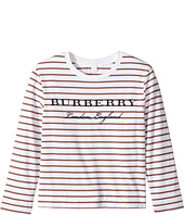 Burberry Kids - Long Sleeve Tee with Stripes (Little Kids/Big Kids)