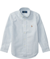 Polo Ralph Lauren Kids - Striped Cotton Oxford Shirt (Little Kids/Big Kids)