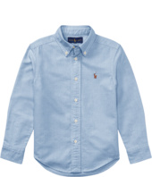Polo Ralph Lauren Kids - Cotton Oxford Sport Shirt (Little Kids/Big Kids)