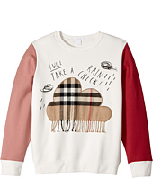 Burberry Kids - Rain Cloud Check Sweat (Little Kids/Big Kids)