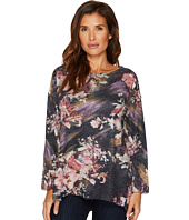 Nally & Millie - Floral Print Sweater Top