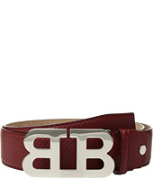 Bally - Mirror B Adjustable Carbon Leather Belt