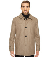 Kenneth Cole New York - Button Front Wool Coat
