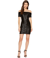 Aidan Mattox - Off the Shoulder Sequin Dress