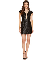Aidan Mattox - Cap Sleeve Sequin Dress