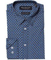 Nick Graham - Gem Print Stretch Shirt
