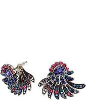 Swarovski - Hearty Pierced Jacket Earrings