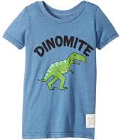 The Original Retro Brand Kids - Dinomyte Short Sleeve Heather Tee (Toddler)