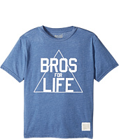 The Original Retro Brand Kids - Bros for Life Short Sleeve Heathered Tee (Big Kids)