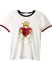 Dolce & Gabbana Kids - King of Love T-Shirt (Toddler/Little Kids)