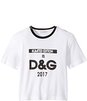 Dolce & Gabbana Kids - Logo T-Shirt (Toddler/Little Kids)