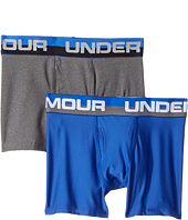 Under Armour Kids - 2-Pack Solid Performance Boxer (Big Kids)