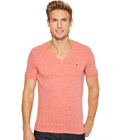 HILFIGER DENIM - Original Melange V-Neck Short Sleeve T-Shirt