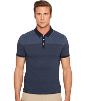 Original Penguin - Short Sleeve Engineered Feeder Stripe Polo Heritage