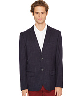Original Penguin - Two-Button Crosshatch Nep Blazer
