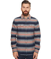Original Penguin - Long Sleeve Striped Brushed Flannel Heritage