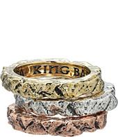 King Baby Studio - Temple Ruin Multicolored Tri Stack Ring