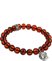 King Baby Studio - Buddha Charm 10mm Beaded Bracelet