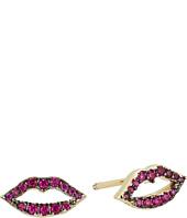 SHASHI - Katie Lips Stud Earrings